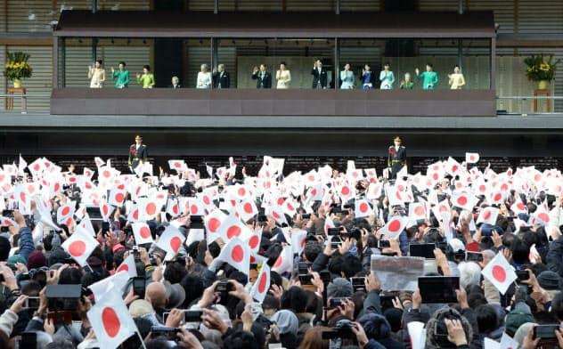 天皇誕生日の一般参賀、中止を発表 宮内庁