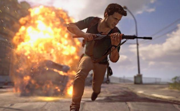 「アンチャーテッド」などプレイステーションのゲームの映画化事業も進む(C)2016 Sony Interactive Entertainment America LLC. Created and developed by Naughty Dog LLC