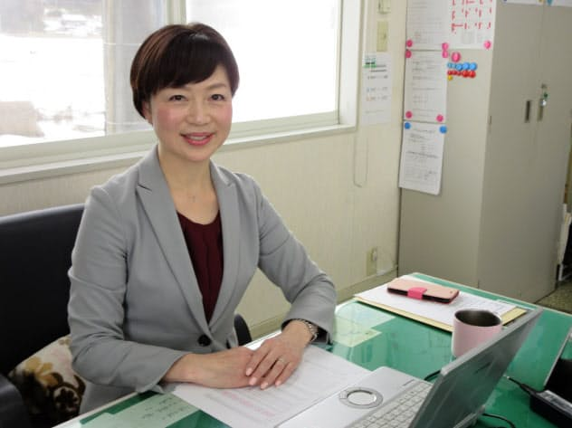 三福運輸の五月女奈緒美社長