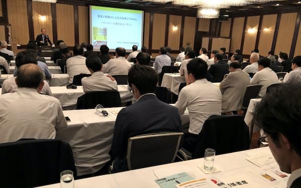 ストライクは札幌市を中心に道内でM&Aに関するセミナーを拡充している(2019年に同社が札幌で開いたセミナー)