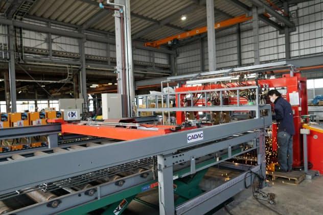 サプロン建材工業(徳島県小松島市)は工場と事務棟をリニューアルして需要増に備える