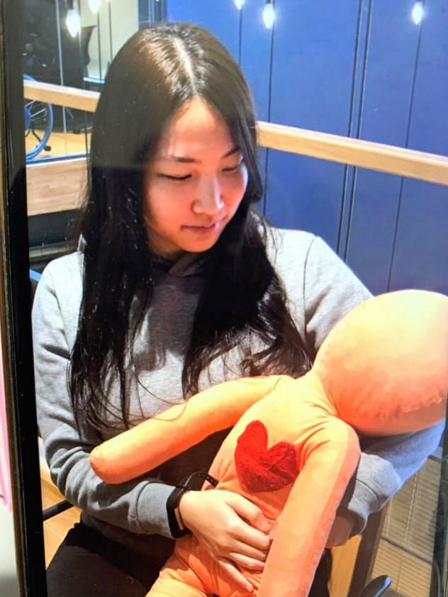 パートナーの心拍を測定してスマホアプリで再現する(石川県野々市市)