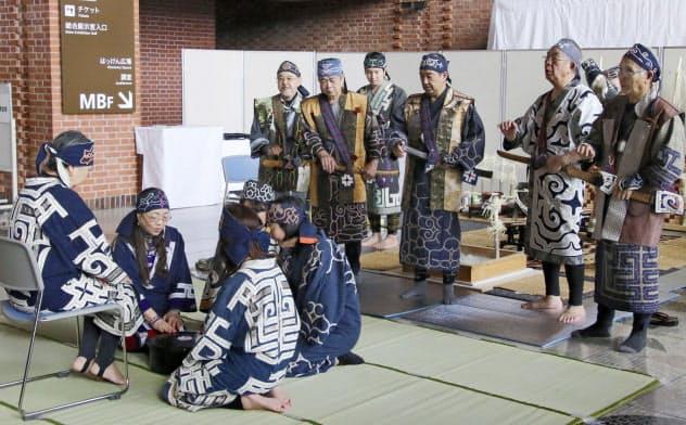 博物館でアイヌ遺骨慰霊式 北海道、7体が対象