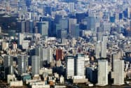 分譲マンションは東京23区の賃料が上がったが、東京都全体では下落した。