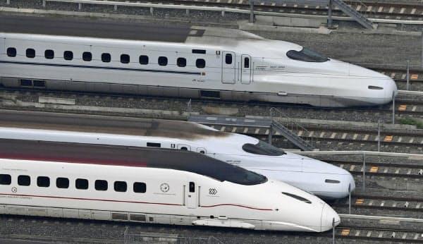 スマートEXは2022年春に九州新幹線にも拡大する予定だ(九州の車両)