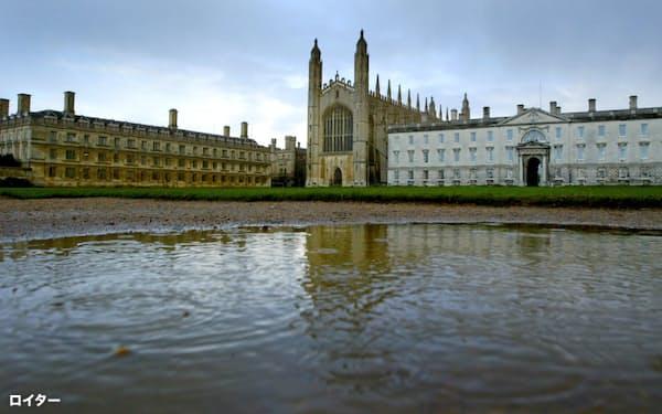 英ケンブリッジは先端技術をめぐる米中の覇権争いの板挟みになっている(ケンブリッジ大・キングスカレッジの校舎)=ロイター