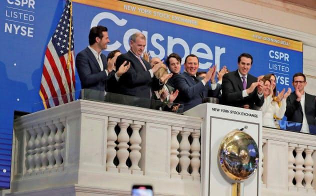 マットレス販売の米キャスパー・スリープは2月6日に新規株式公開したが……(ニューヨーク証券取引所)=ロイター