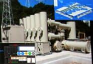 東京電力パワーグリッド管内の変電所におけるIoT技術の活用イメージ