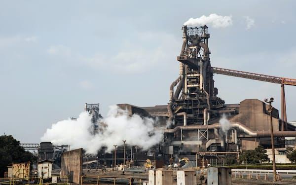 JFEは1~3月期に資産除去費用などがかさむ(広島県福山市の西日本製鉄所福山地区)