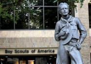 ボーイスカウト米国連盟(BSA)18日、米連邦破産法11条(日本の民事再生法に相当)の適用を裁判所に申請した(米テキサス州アービングのBSA本部)=ロイター