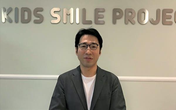 Kids Smile Holdingsの中西正文社長