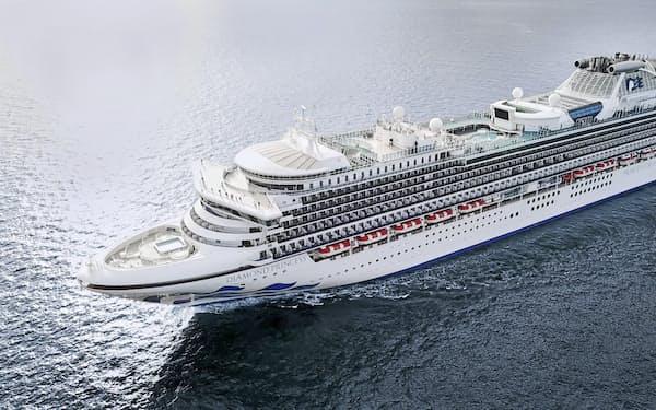 プリンセス・クルーズの「ダイヤモンド・プリンセス」は4月17日に新潟東港に寄港予定だった