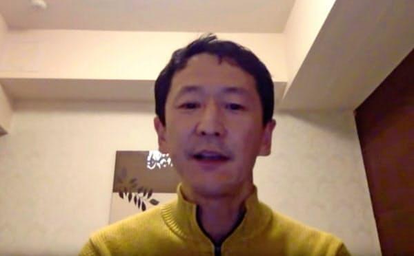 感染対策の不備を告発した感染症専門医の岩田健太郎神戸大教授=同教授提供・ロイター