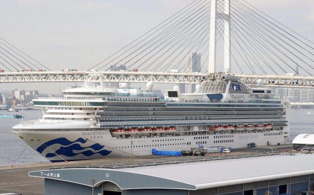 クルーズ船客の日本人男女2人死亡 新型肺炎、入院中