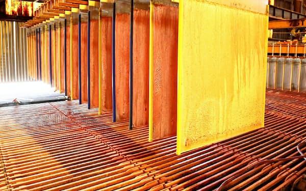 中国では銅の製錬が今後も伸びる見込みだ