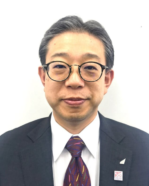 北海道科学大学就職支援センター長の北間正崇教授