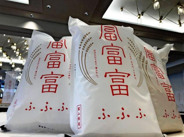 富富富は富山県産コシヒカリを下回る値段で売られるケースも出てきた