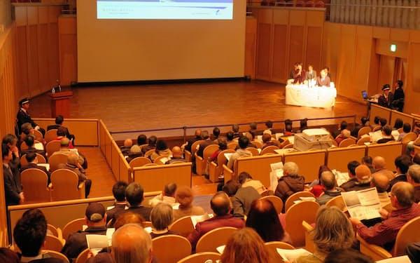 横浜市はIRの市民説明会を延期する(1月に港南区で開いた説明会)