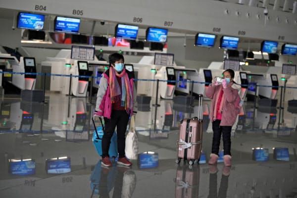 新型肺炎の流行で旅客需要が減少=ロイター