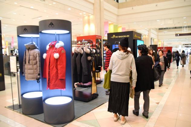 大丸札幌店では新型ウイルスの影響も出た(写真は19年9月)