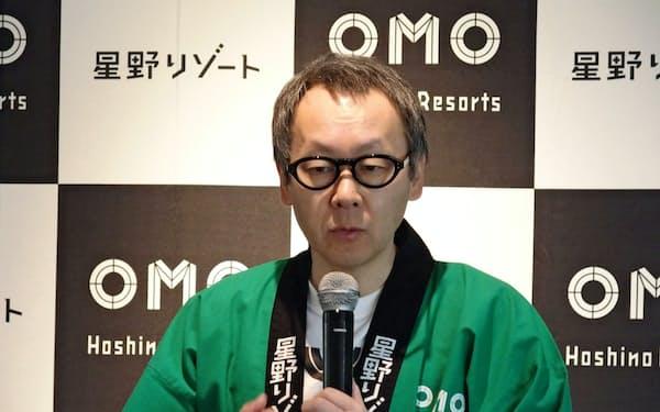 「川崎のディープな魅力を楽しんでいただける施設にしたい」と話す星野さん