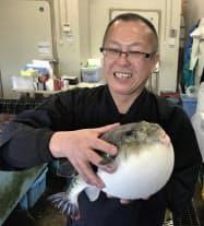 日間賀島観光協会の井戸田浩さん