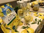 ポッカサッポロはレモンサワー向けに冷凍カットレモンを売り出す