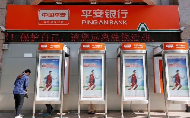 中国平安保険は銀行や資産運用部門を傘下に抱える=ロイター