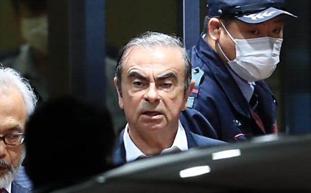 保釈中に海外逃亡した日産自動車のカルロス・ゴーン元会長(2019年4月、東京都葛飾区)
