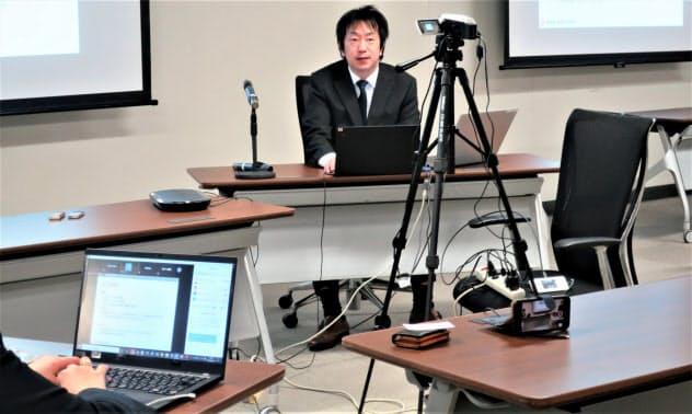 医療機関向けRPAセミナーはWEB中継で開催(信大付属病院)