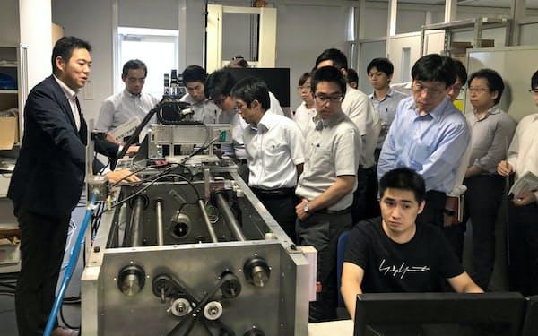 ダイキン工業と東京大学は研究者の交流を進める(東大の研究施設)
