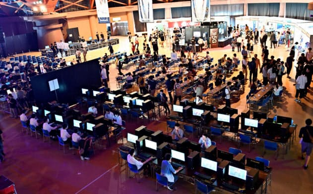 富山県は昨年eスポーツの大会「ToyamaGamersDay」を開いた(同県高岡市)