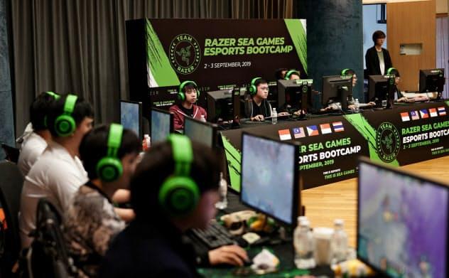 レイザーのeスポーツ用の操作機器は、若手ゲーマーから絶大な支持を得て、全世界に8000万人のユーザーを抱える=レイザー提供