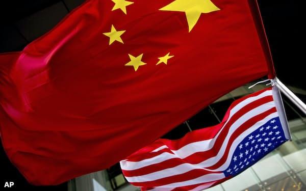 米中のハイテク覇権を巡る争いが激しくなっている(北京の米国大使館=AP)