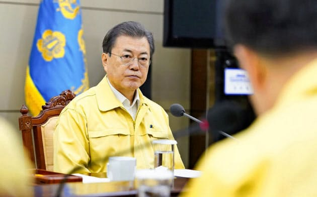 韓国の新型肺炎346人、3日で7倍に 教会・病院感染で