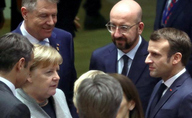 EU首脳会議は21日、成果なく閉幕した=ロイター