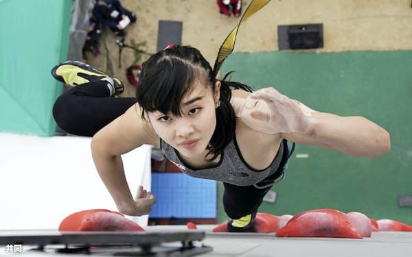 女子で優勝した伊藤ふたば(22日、モリパークアウトドアヴィレッジ)=共同