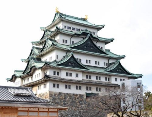 名古屋城の木造復元は遅れている(名古屋市中区)