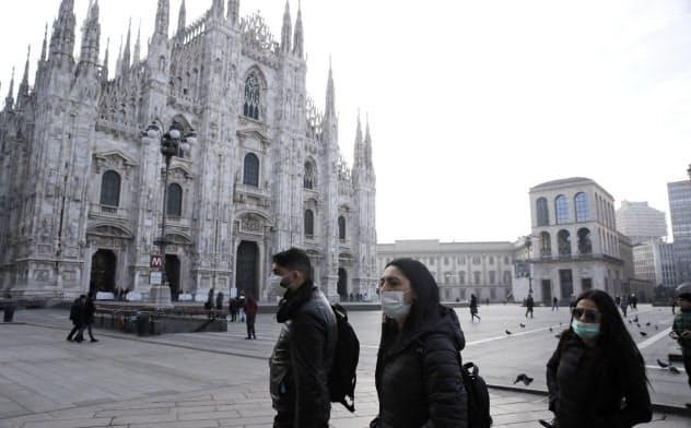 新型肺炎、イタリアで感染急増 一部自治体は封鎖