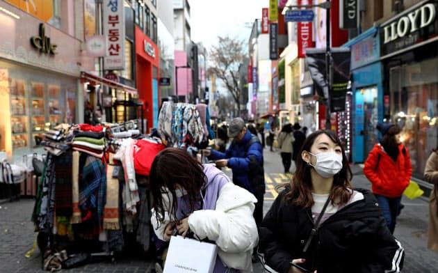韓国株、一時3%超下落 ウォンも急落 新型肺炎の感染者急増