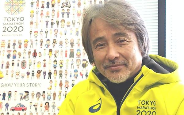「東京マラソンを将来的には世界で一番の大会にしたい」と語る早野レースディレクター