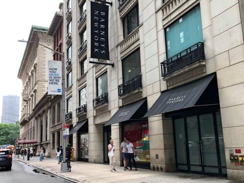 バーニーズ・ニューヨークの旗艦店は売り上げが低迷していた(2019年7月)