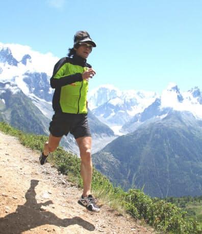 世界一をめざし走ることに全身全霊をささげていた全盛期(41歳のヨーロッパアルプス合宿)