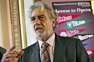 プラシド・ドミンゴ氏は謝罪声明を発表した(2007年5月撮影)=AP