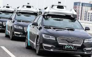 トヨタは中国での自動運転開発を加速する(中国・広東省広州市)