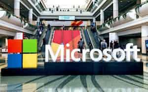 マイクロソフトは新型コロナの影響で「ウィンドウズ」などパソコン関連部門の売上高が予想に届かない見込みと公表した