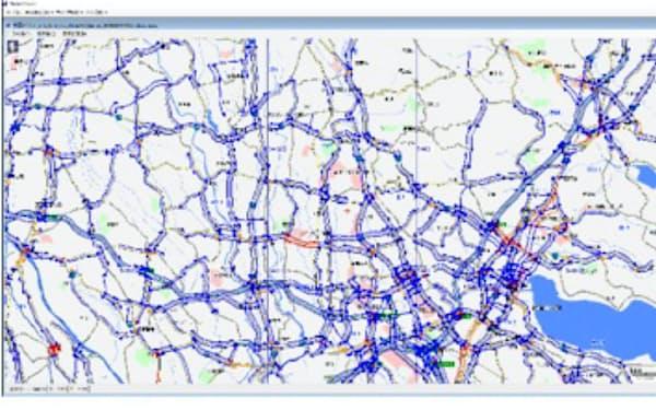 パイオニアはVICSに交通情報を提供する