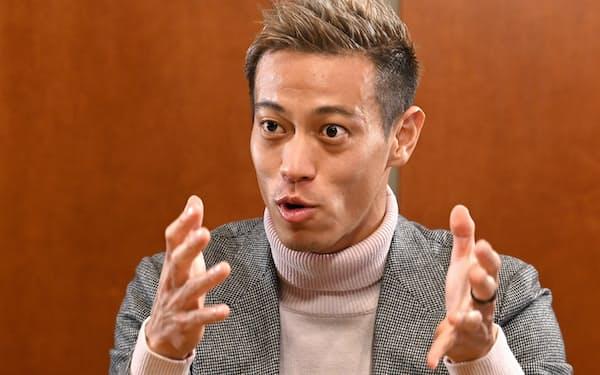 本田圭佑 プロサッカー選手