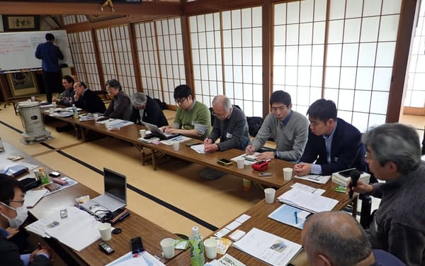 被災者支援者が集まった災害ケースマネジメント構想会議(宮城県石巻市)