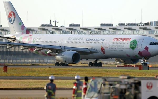 中国国内外を結ぶ路線は運休・減便が相次ぐ